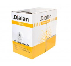Dialan UTP Cat.5E 4PR CCA Black Indoor/Outdoor 305м